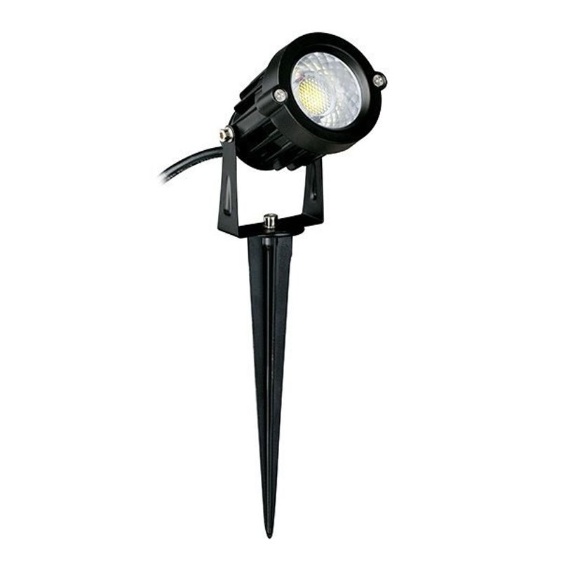 ESPETO-DRESDEN-LED-7W-PRETO-3000K-GERMANY