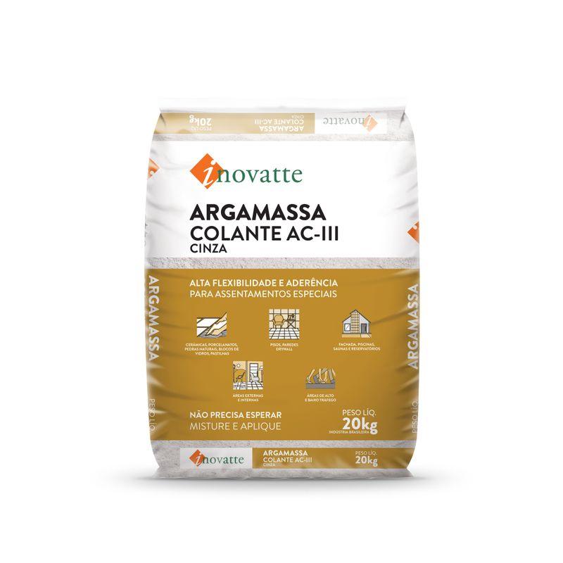 ARGAMASSA-20KG-AC-3-ARG-CINZA-INOVATTE