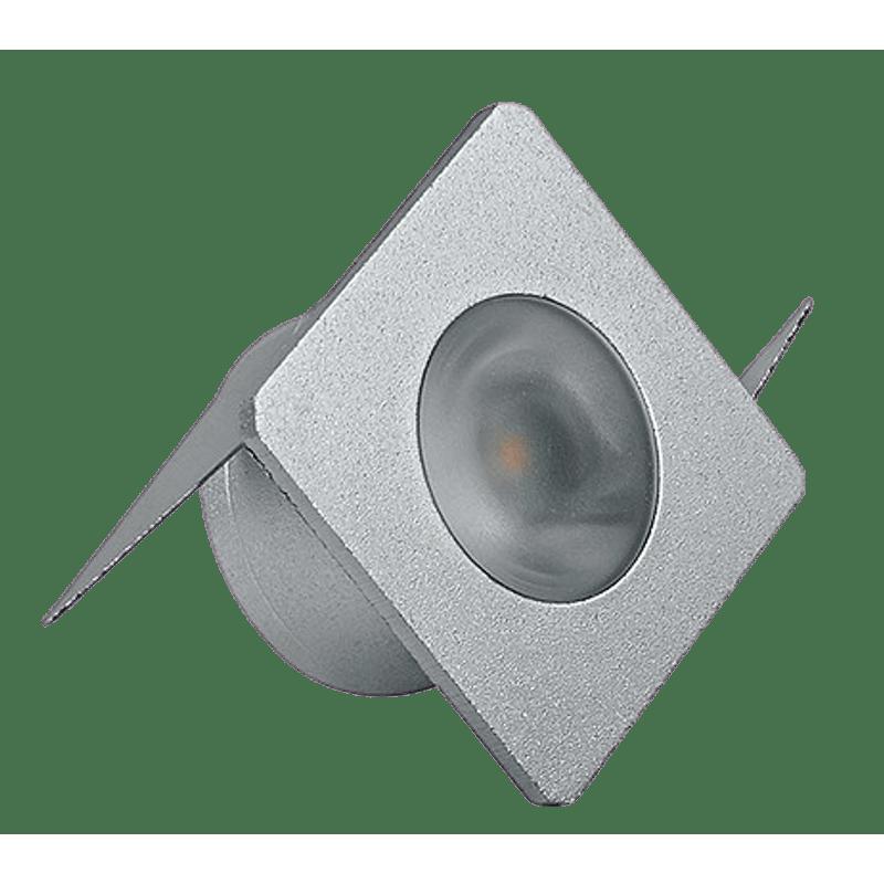 LUMINARIA-LED-MINI-EMBUTIR-1W-PRATA-2700K-BIVOLT-LUMINATTI