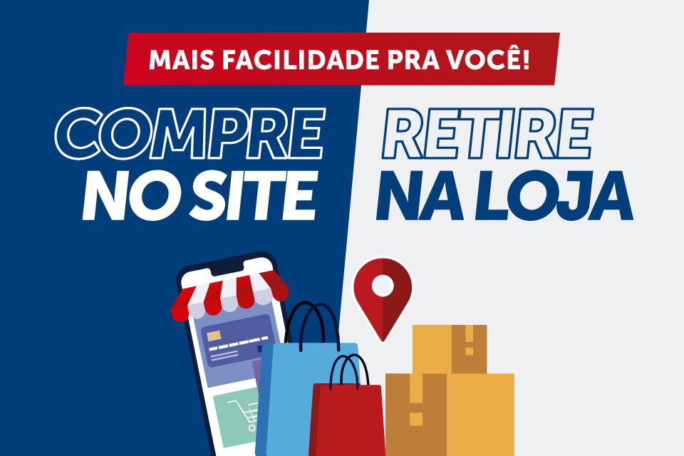 Banner Mobile - Compre e Retire