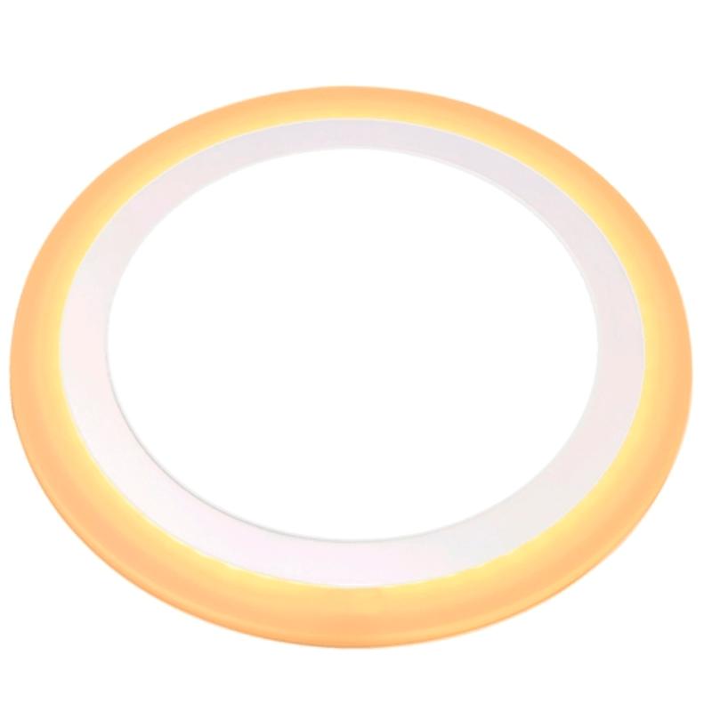 painel-led-sobrepor-dual-color-18w-6w-taschibra-redonda-