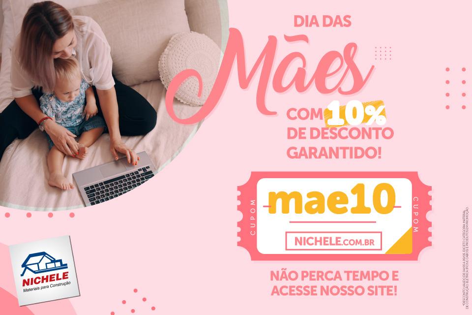 Cupom Mae10